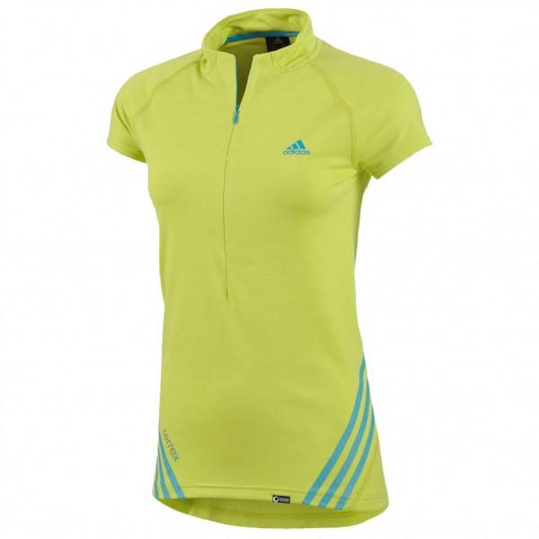Adidas - Women's TX Cocona 1/2 Zip SS Tee - T-paidat
