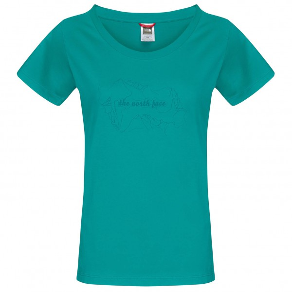 The North Face - Women's SS Heli View Tee - T-Shirt