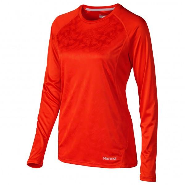 Marmot - Women's Crystal LS - T-shirt de running