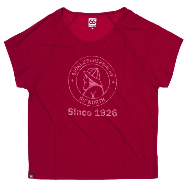 66 North - Women's Skogar T-Shirt W/Print - T-Shirt