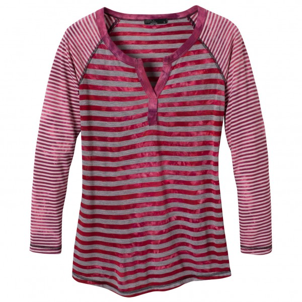Prana - Women's Zoe Henley Top - Long-sleeve