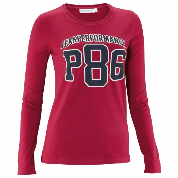 Peak Performance - Women's Logo LS - Manches longues