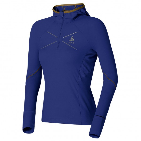 Odlo - Women's Hoody Midlayer 1/2 Zip Visbia - Running shirt