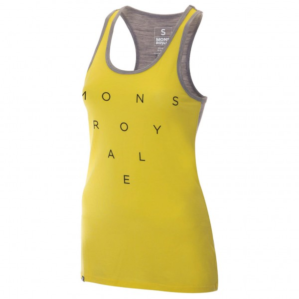 Mons Royale - Women's Racer Back Tank - Tank-topit