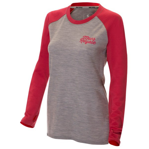 Mons Royale - Women's Raglan LS - Long-sleeve