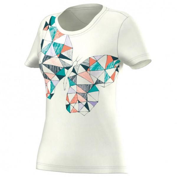 Adidas - Women's ED No Dye Butterfly Tee - T-paidat