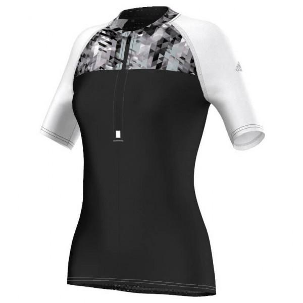 adidas - Women's Trail 1/2 Zip Tee - Laufshirt