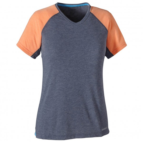 Patagonia - Women's S/S Nine Trails Shirt - Laufshirt