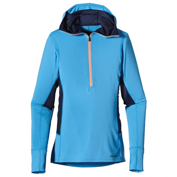 Patagonia - Women's All Weather Zip-Neck Hoody - Laufshirt