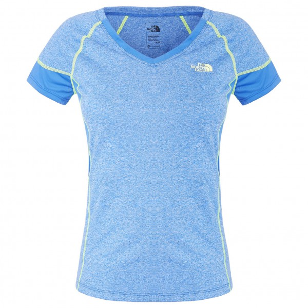 The North Face - Women's Reactor V-Neck S/S - Laufshirt