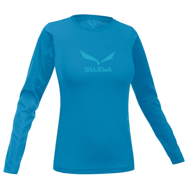 Salewa - Women's Solidlogo Co L/S Tee - Longsleeve