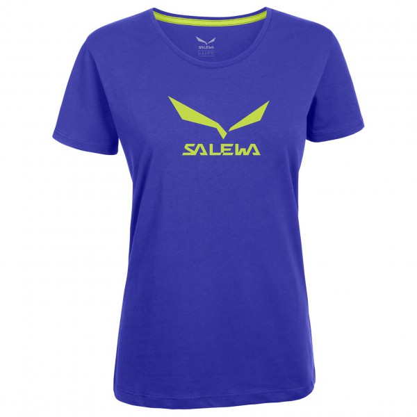 Salewa - Women's Solidlogo Co S/S Tee - T-paidat