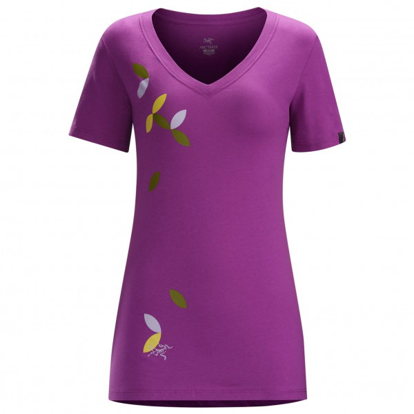 Arc'teryx - Women's Flutter SS V-Neck T-Shirt - T-paidat