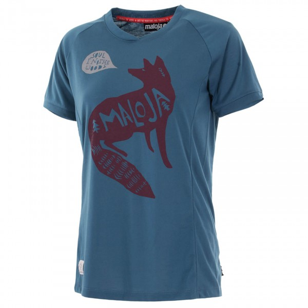 Maloja - Women's FoxiM. Multi 1/2 - T-Shirt