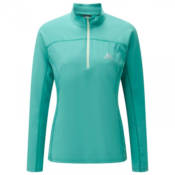 Mountain Equipment - Women's Modus Zip Tee - Long-sleeve