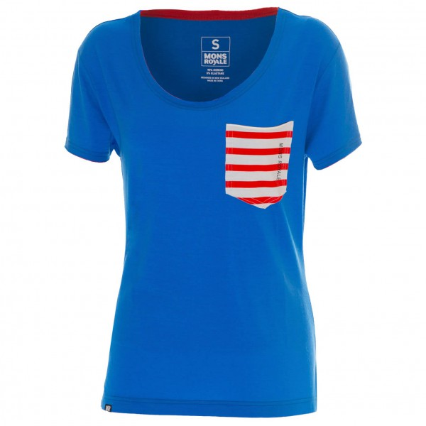 Mons Royale - Women's Slouchy Pocket Tee - T-paidat