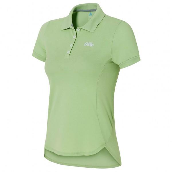 Odlo - Women's Polo Shirt S/S Trim - Kragtröja