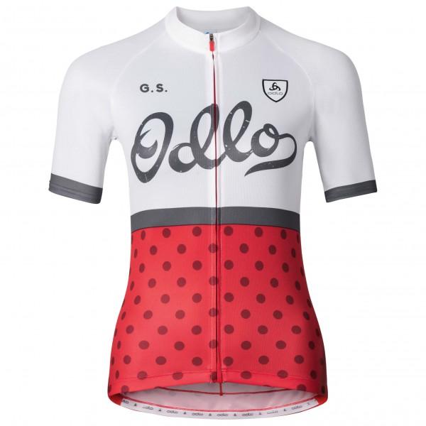 Odlo - Women's Stand-Up Collar S/S Full Zip Ride - Radtrikot