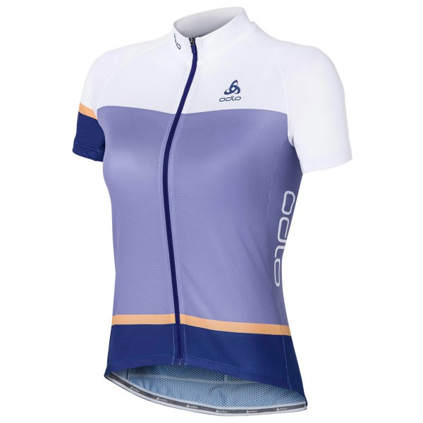Odlo - Women's Stand-Up Collar S/S Full Zip Telegraphe