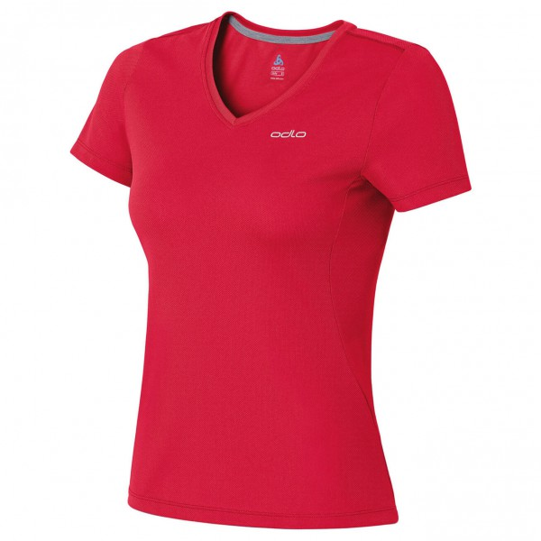 Odlo - Women's T-Shirt S/S V-Neck Liv - T-Shirt