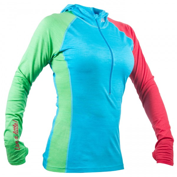 Kask - Hoodie 160 Light Blue - T-shirt de running