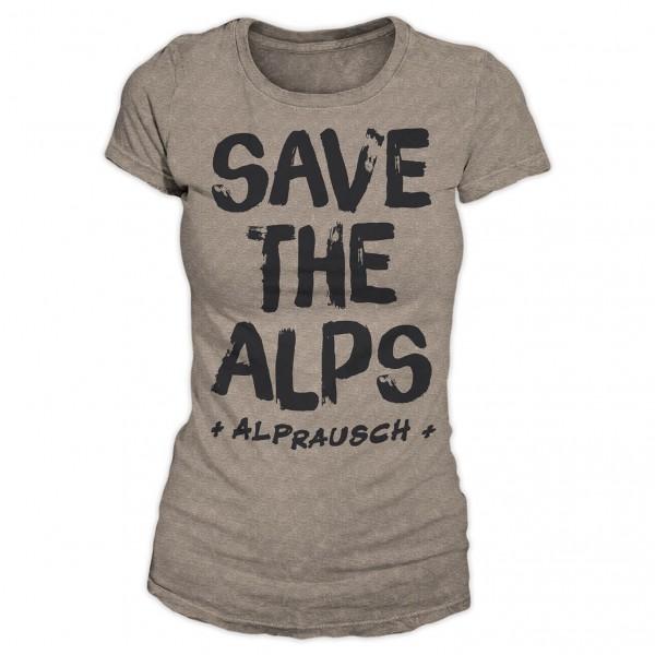 Alprausch - Women's Mina Save The Alps - T-Shirt