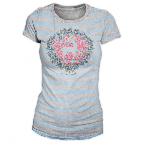 Alprausch - Women's Meli Blüemli-Hirsch - T-shirt