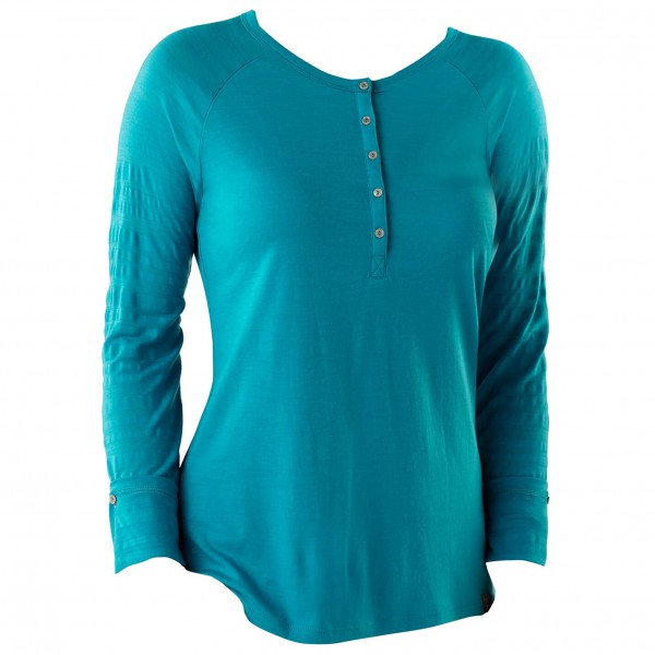 Smartwool - Women's Burnout Henley - Long-sleeve