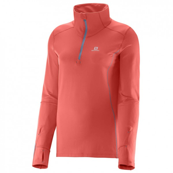 Salomon - Women's Agile 1/2 Zip Mid - T-shirt de running