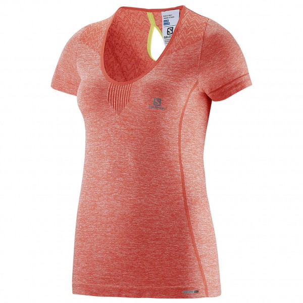 Salomon - Women's Elevate Seamless Tee - Laufshirt