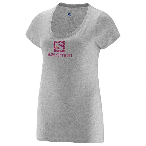 Salomon - Women's No Strings SS Logo Tee - T-paidat