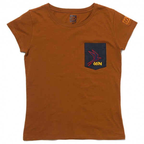 66 North - Women's Logn T-Shirt Kria Pocket - T-paidat