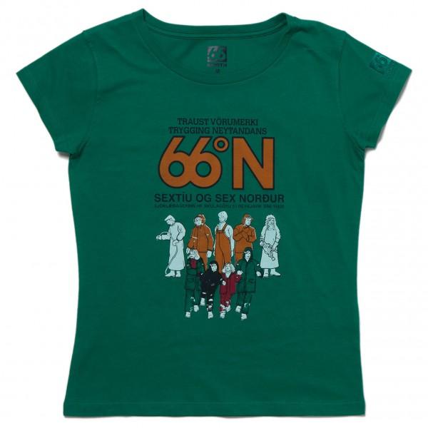 66 North - Women's Logn T-Shirt Traust - T-paidat