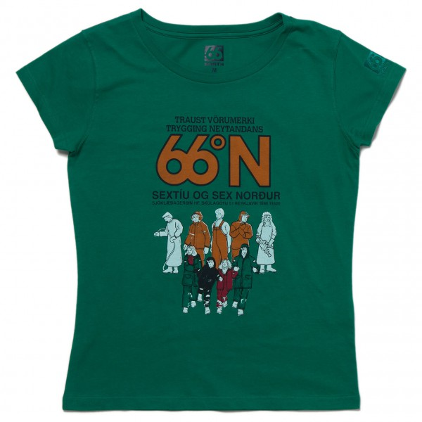66 North - Women's Logn T-Shirt Traust - T-shirt