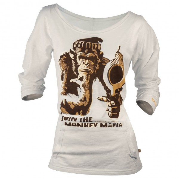 Nihil - Women's Monkey Shot Tee - Longsleeve