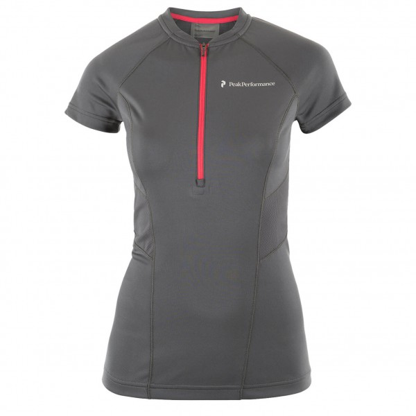 Peak Performance - Women's Balkka Zip Tee - Running shirt