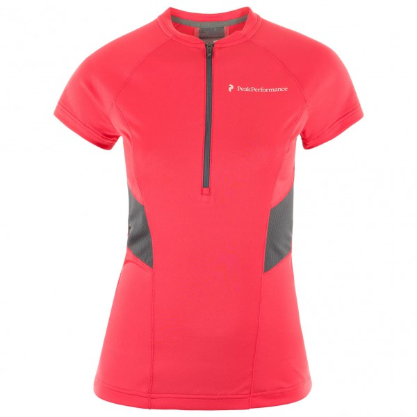 Peak Performance - Women's Balkka Zip Tee - Laufshirt