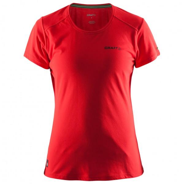 Craft - Women's In-The-Zone T-Shirt - T-paidat
