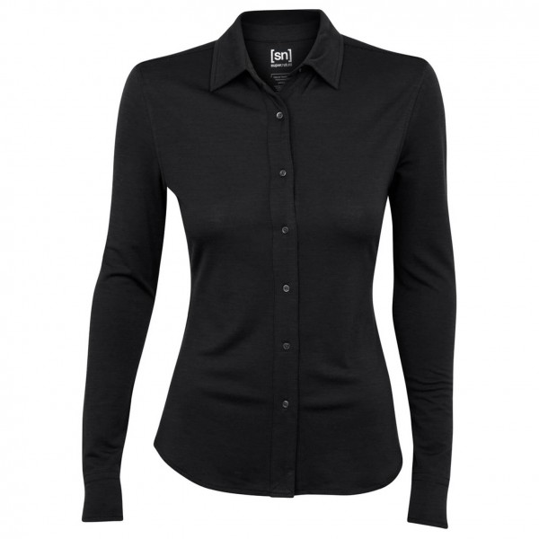 SuperNatural - Women's Button Shirt L/S 175 - Long-sleeve