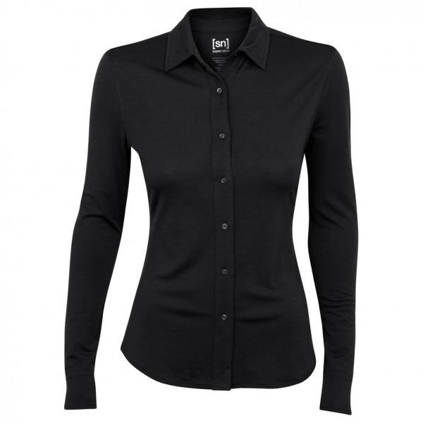 SuperNatural - Women's Button Shirt L/S 175 - Longsleeve