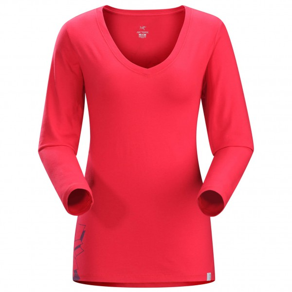 Arc'teryx - Women's Maple V-Neck LS T-Shirt - Long-sleeve