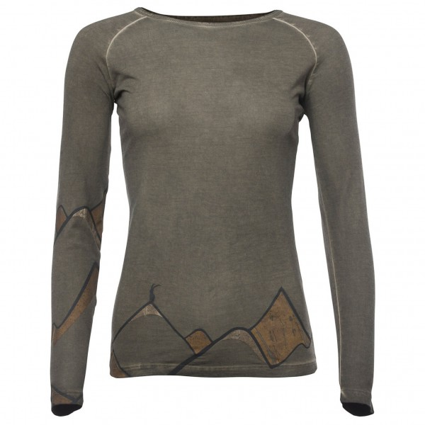 Chillaz - Women's LS Classic Mountain Art - Longsleeve