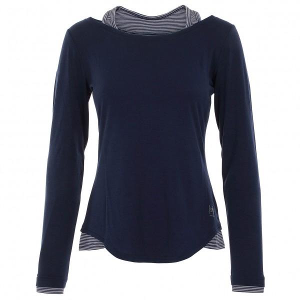 SuperNatural - Women's Pliant Detail LS - Yogashirt