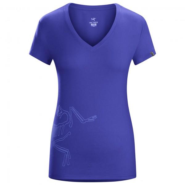 Arc'teryx - Women's Big Bird SS V-Neck - T-paidat