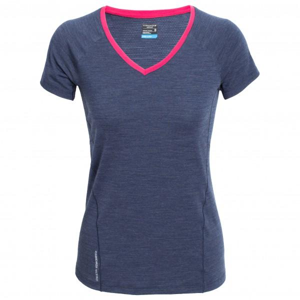 Icebreaker - Women's Spark S/S V - T-shirt de running