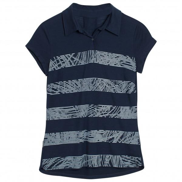 Icebreaker - Women's Sphere S/S Polo Palm Slice - Polo shirt