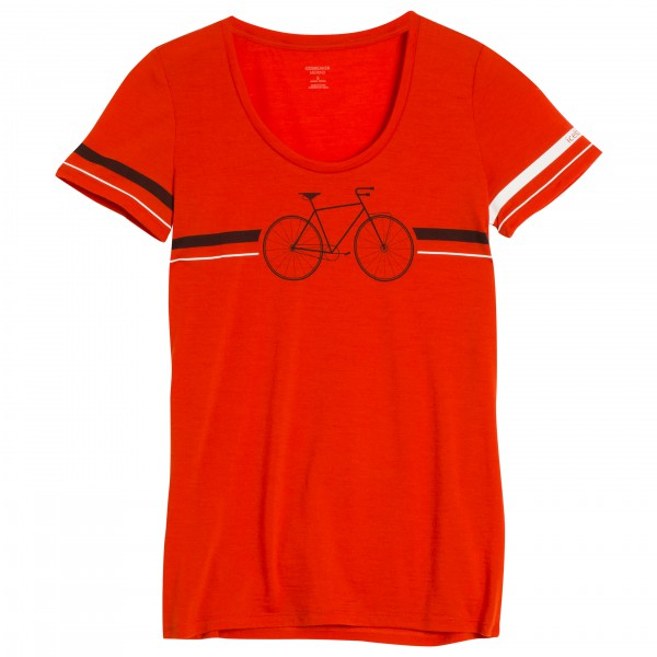 Icebreaker - Women's Tech Lite S/S Scoop Fixie - T-paidat