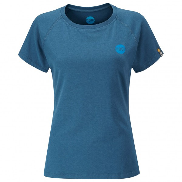 Moon Climbing - Women's Crag Logo Tech Tee - T-Shirt