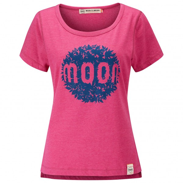 Moon Climbing - Women's Leaf Graphic Tee - T-paidat