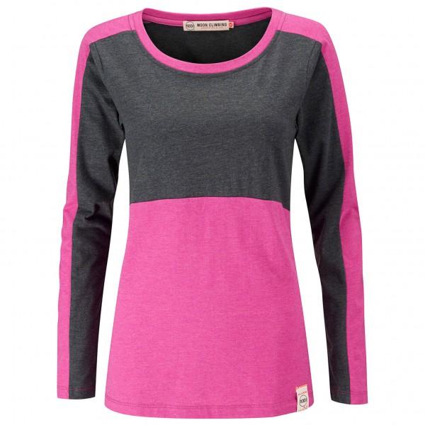 Moon Climbing - Women's Long Sleeve T-Shirt - Long-sleeve